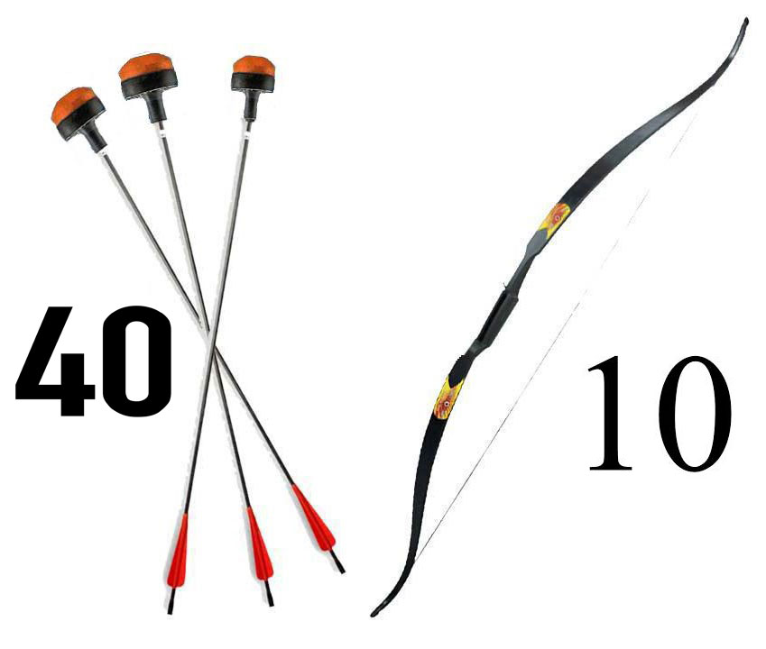 PACK BATTLE ARCHERY 48/15''  Kid