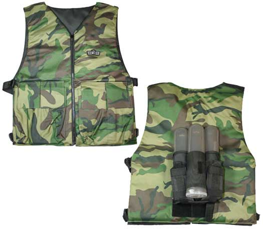 TACTICAL VEST SIMPLE + 3 Pots de  140 incluidos